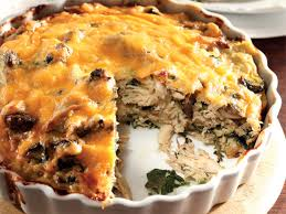 LOW CARB CHICKEN PIE